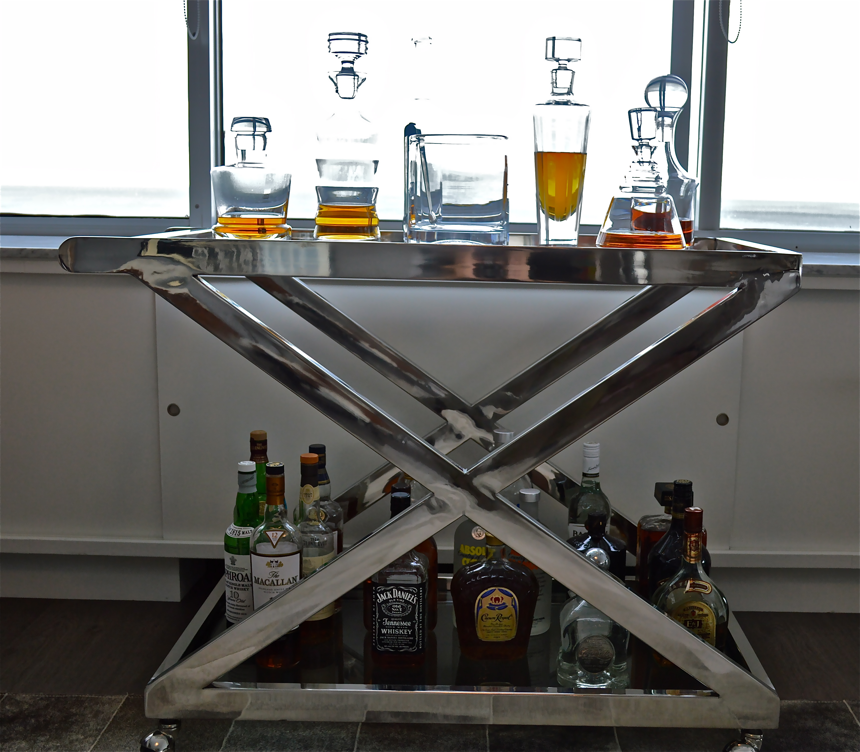 The Bar Car Renaissance How To Add A Bar Cart To Your Home