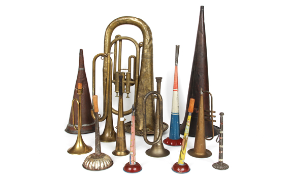 Vintage Horns from Partners and Spade