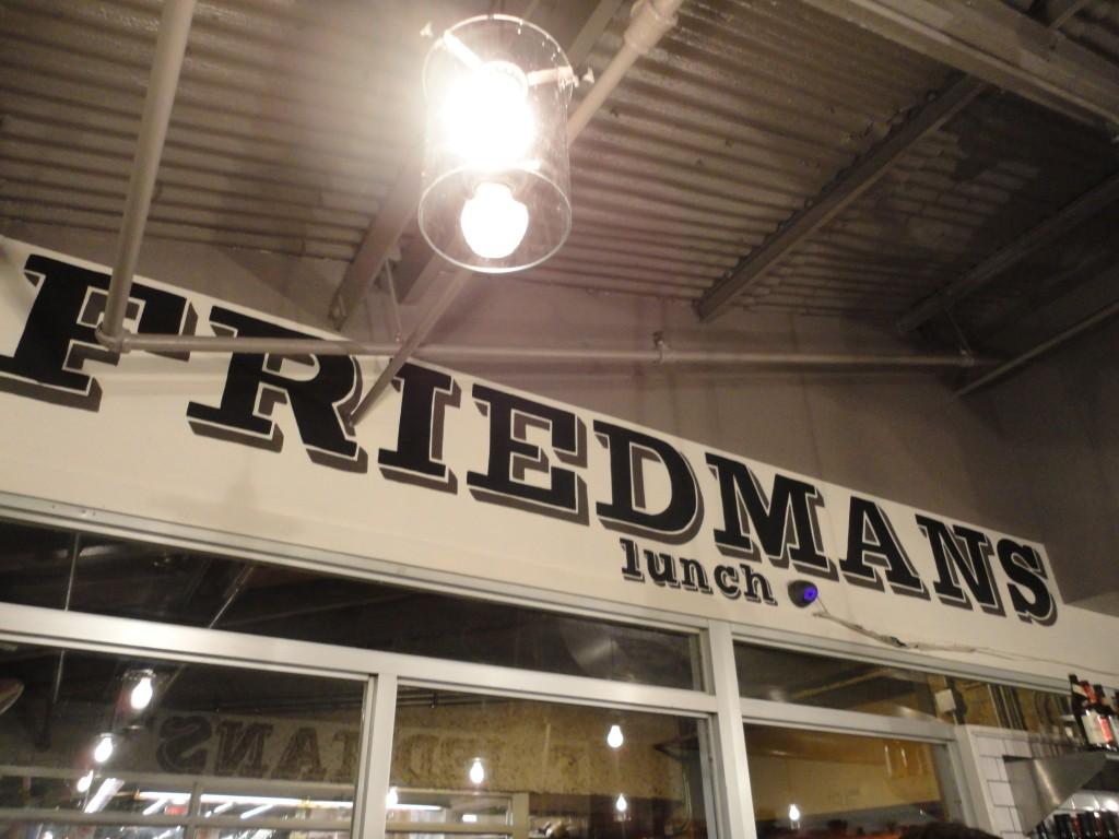 Friedman's Lunch at Chelsea Market