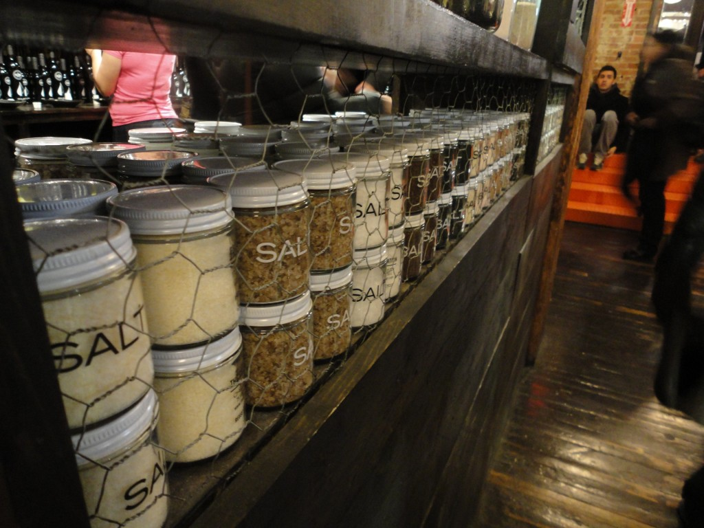 Salts available at The Filling Station at Chelsea Market