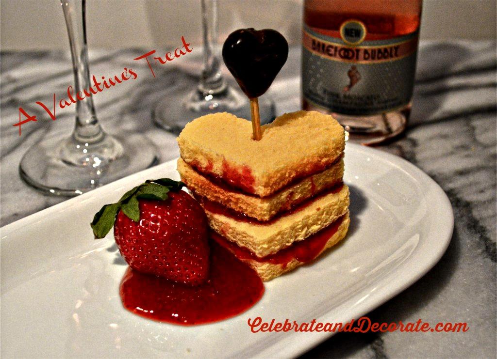 A Valentine's Treat #celebrateanddecorate