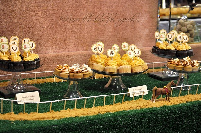 Kentucky Derby Dessert Tablescape