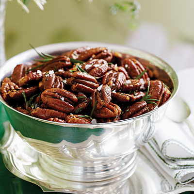 Roaste Brown Butter Pecans with Rosemary