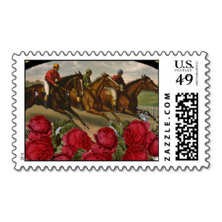 Kentucky Derby Postage