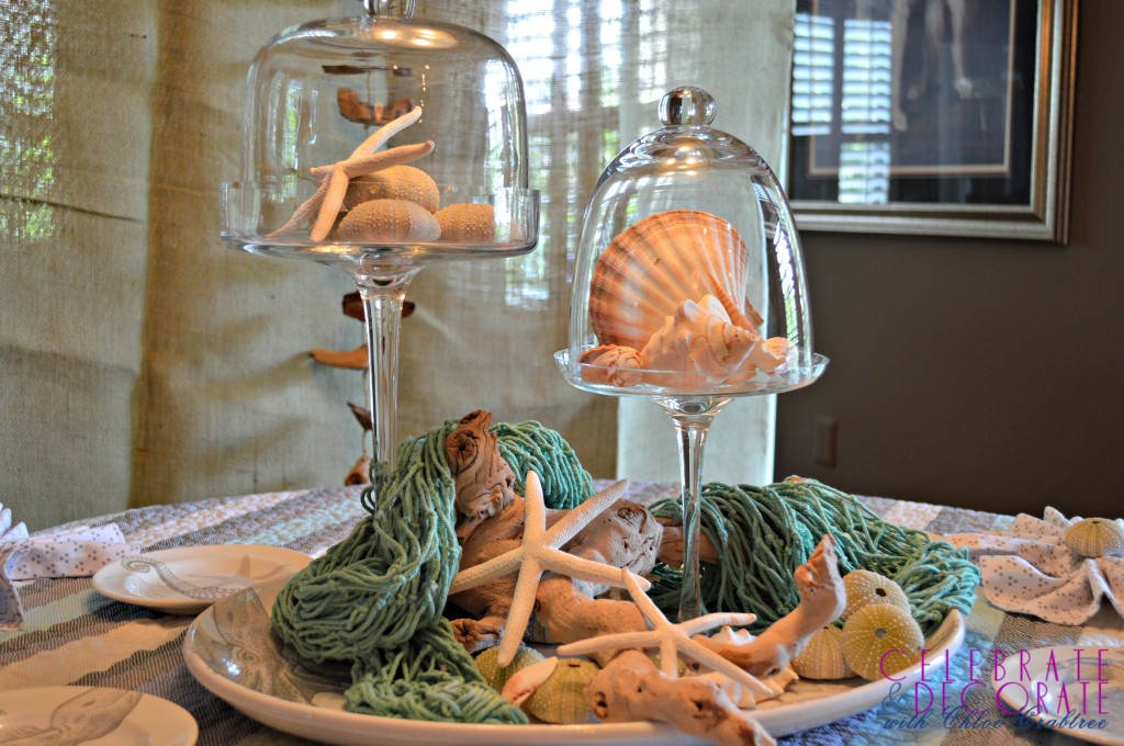 Coastal-luncheon-centerpiece