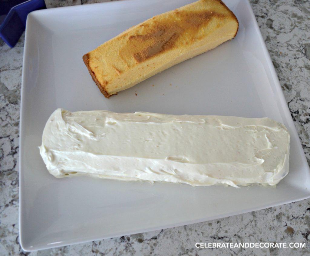 Easy Fourth of July Dessert - No-bake Firecracker Cake