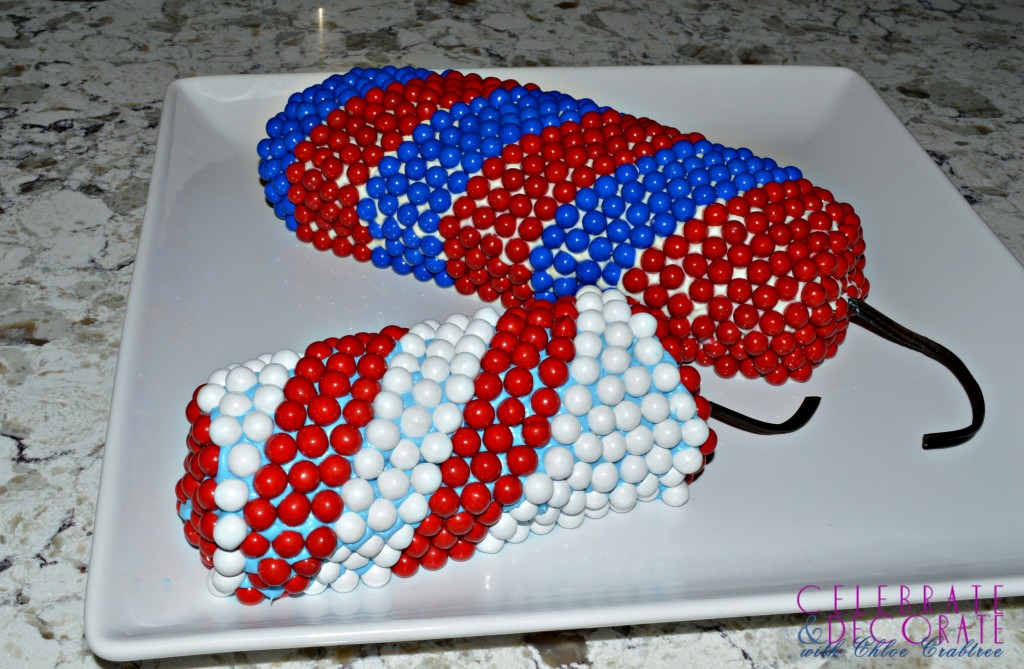 Make an EASY Fourth of July Firecracker Cake - Celebrate & Decorate