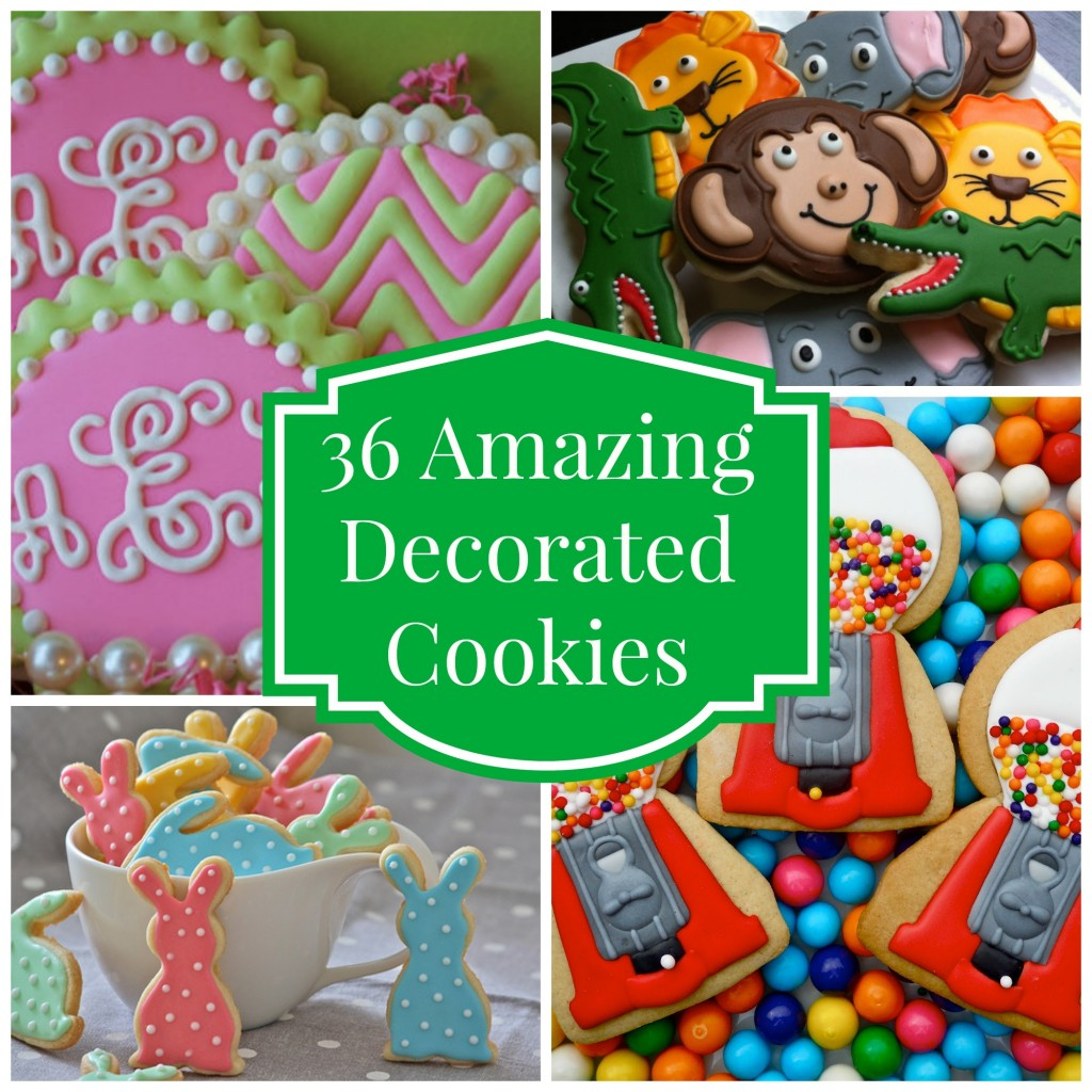 36 Amazing Decorated Cookies - Celebrate & Decorate - photo#11