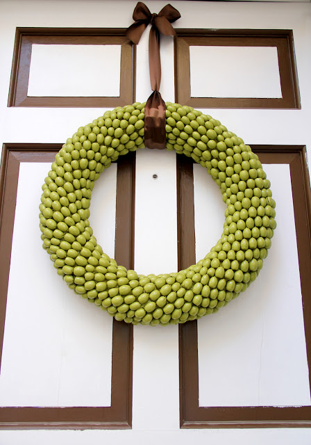 Acorn Wreath ~ Little Things Bring Smiles