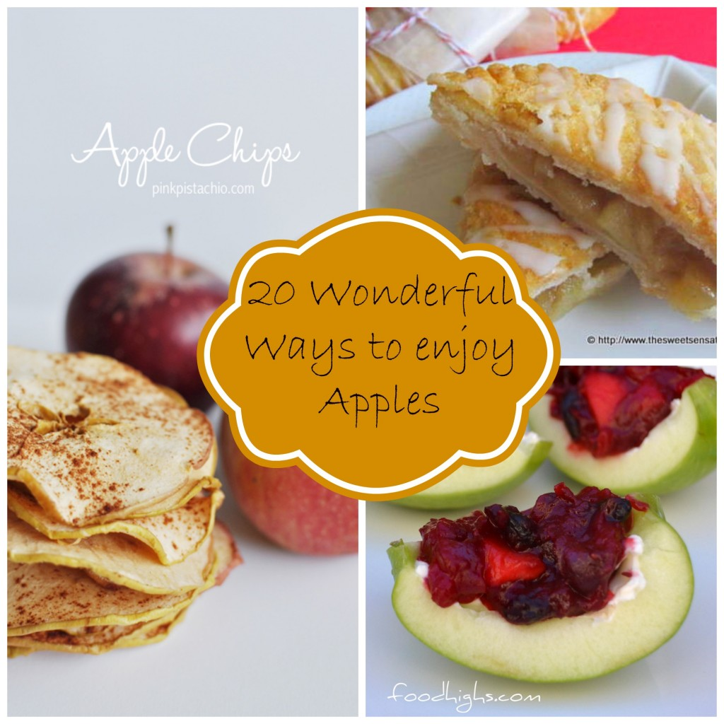 20 Wonderful ways to enjoy apples