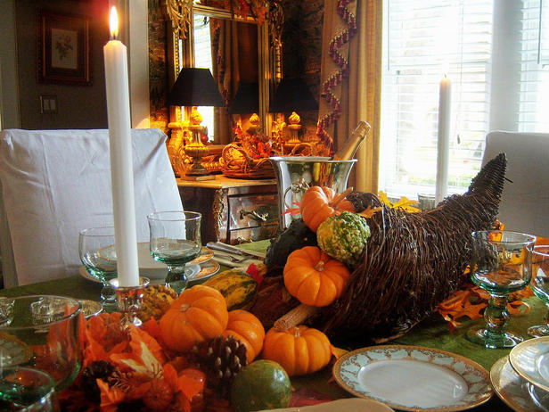 Autumn Icon Cornucopia ~ HGTV