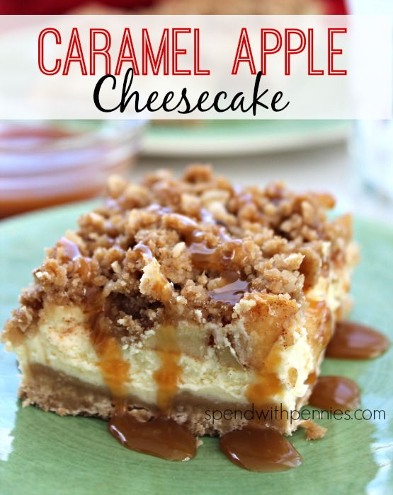 Caramel-Apple-Cheesecake-dessert-cheesecake-recipe