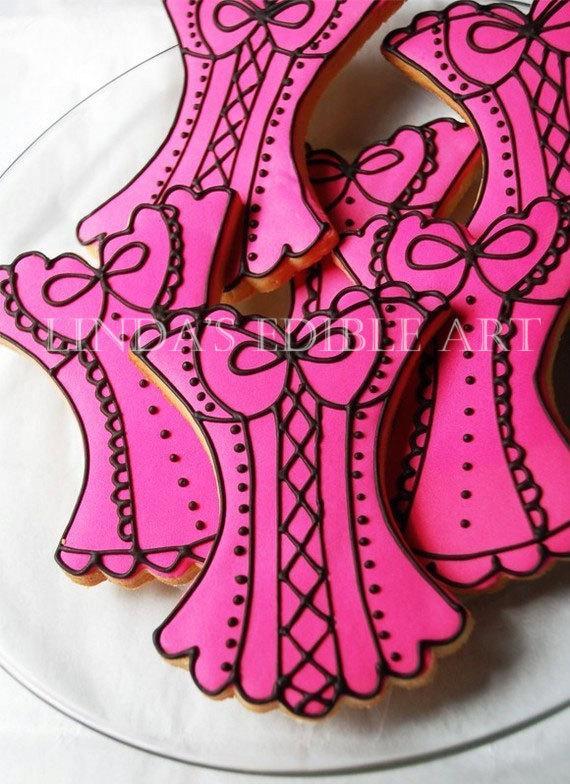 Corset Cookies ~ Lindas Edible Art