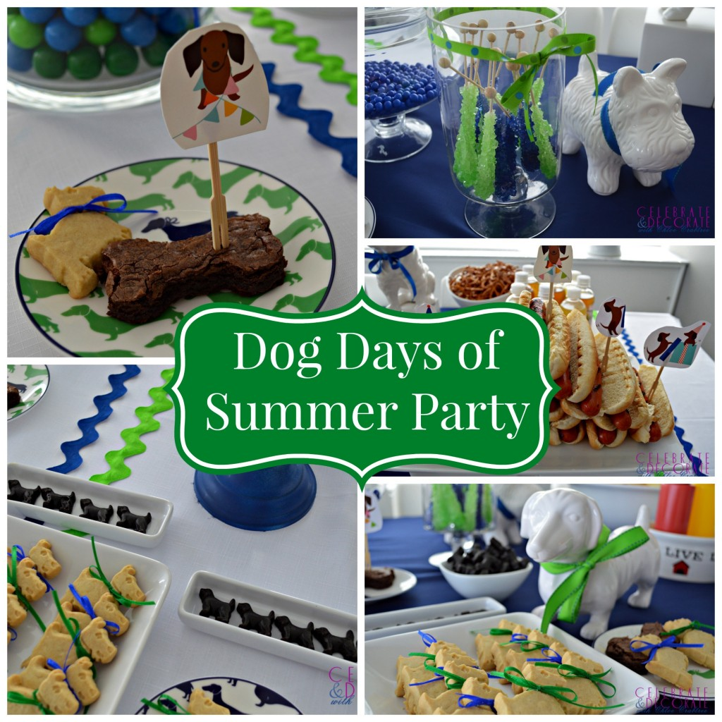 Dog Days of Summer Collage