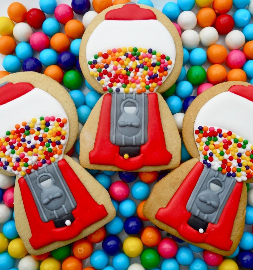 Gumball Cookies