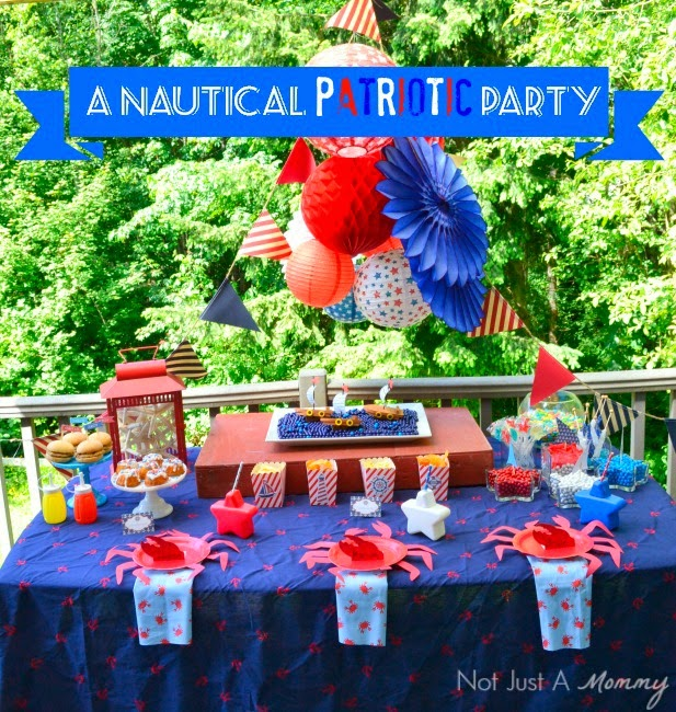 Nautical Party ~ Not Just a Mommy
