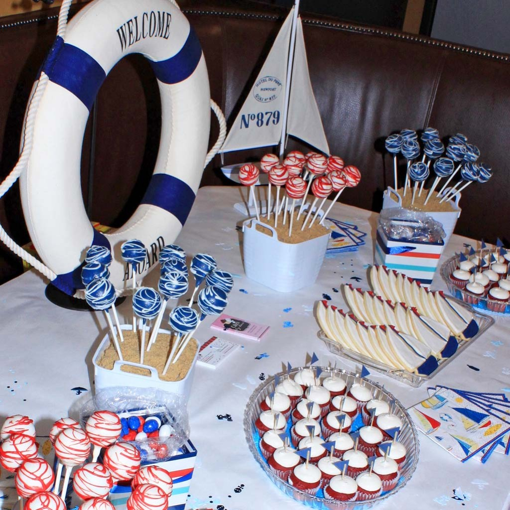 Nautical Party Treat Table