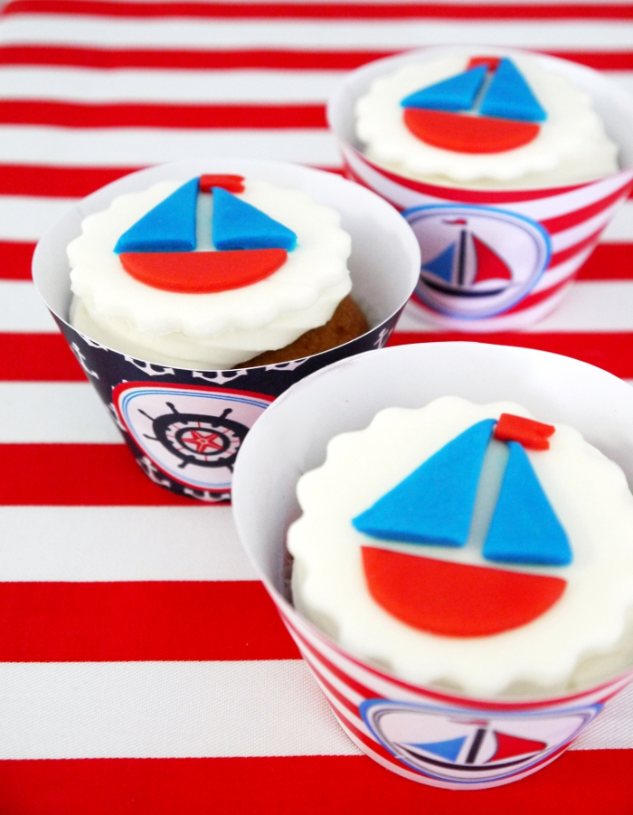 Preppy Nautical Party by Bird's Party - Birdsparty.com13