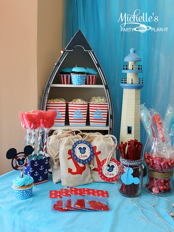 Sailing Away with Mickey Mouse ~ Michelle's Party Plan It