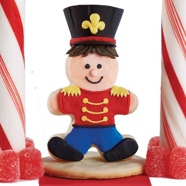 Toy Solider cookie ~ Wilton