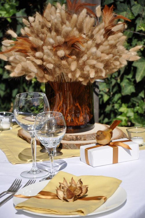 Wheat Fall Centerpiece