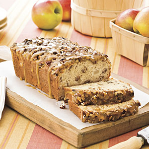 Praline Apple Bread