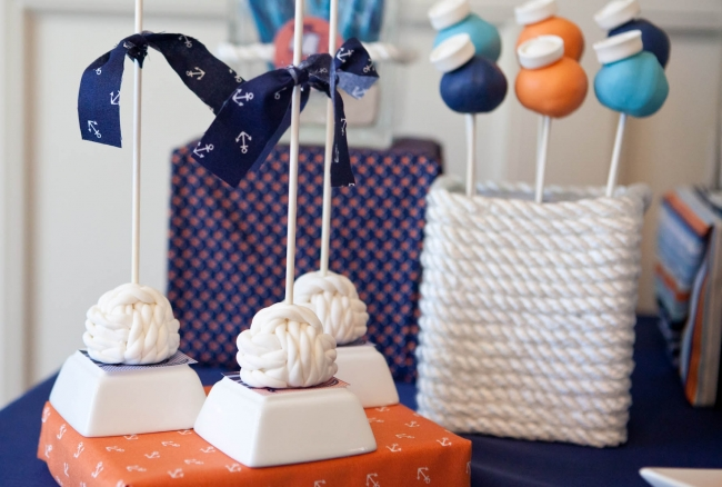 Vintage Nautical Party Desserts