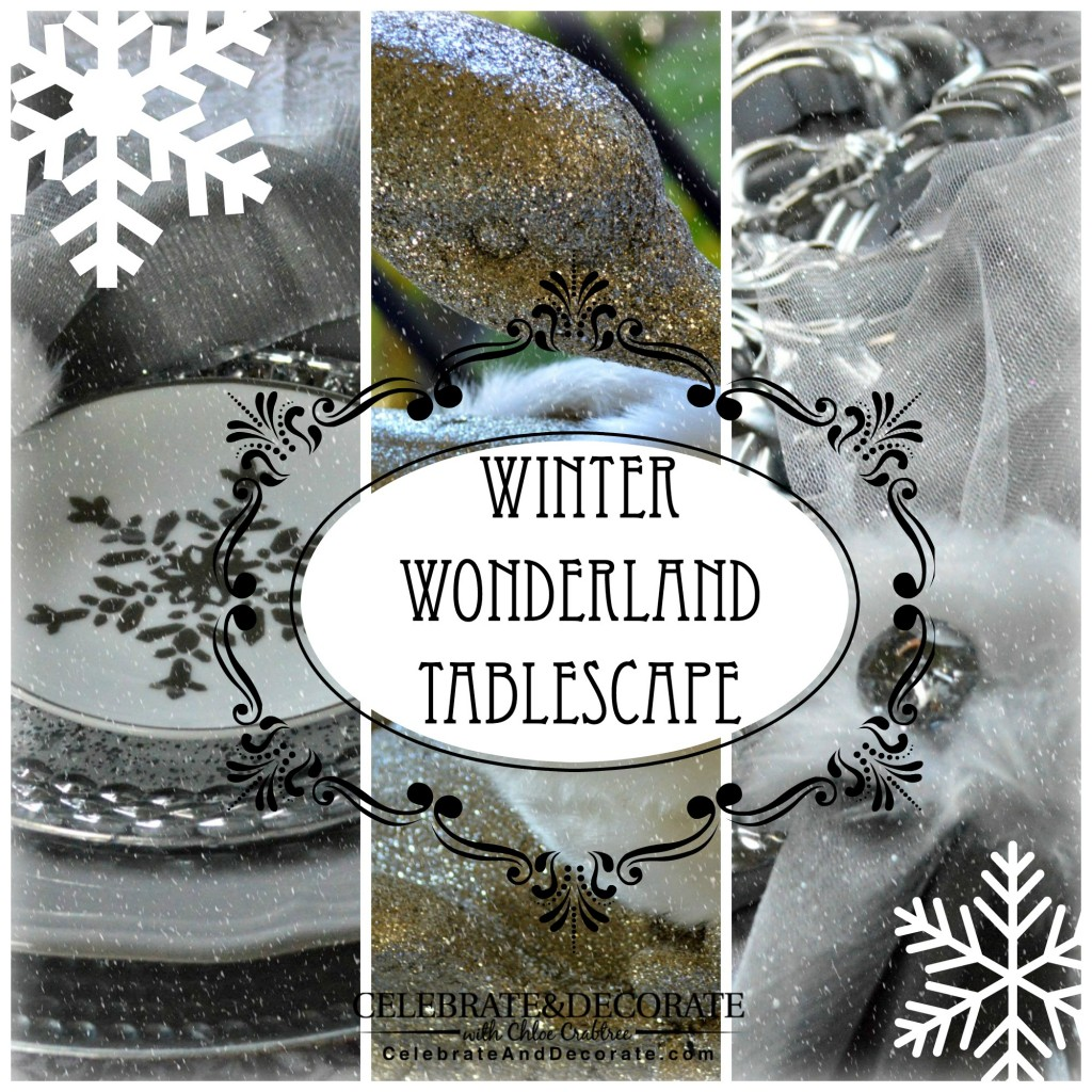 Incredible Winter Wonderland Tablescape