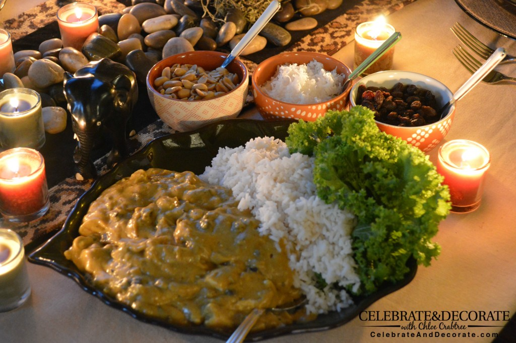 Easy Curry and Rice Recipe - CelebrateAndDecorate.com