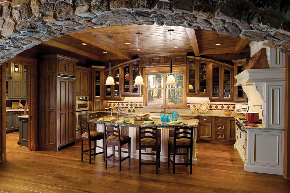 14 amazing kitchens that inspire celebrate decorate for Amazing kitchen designs