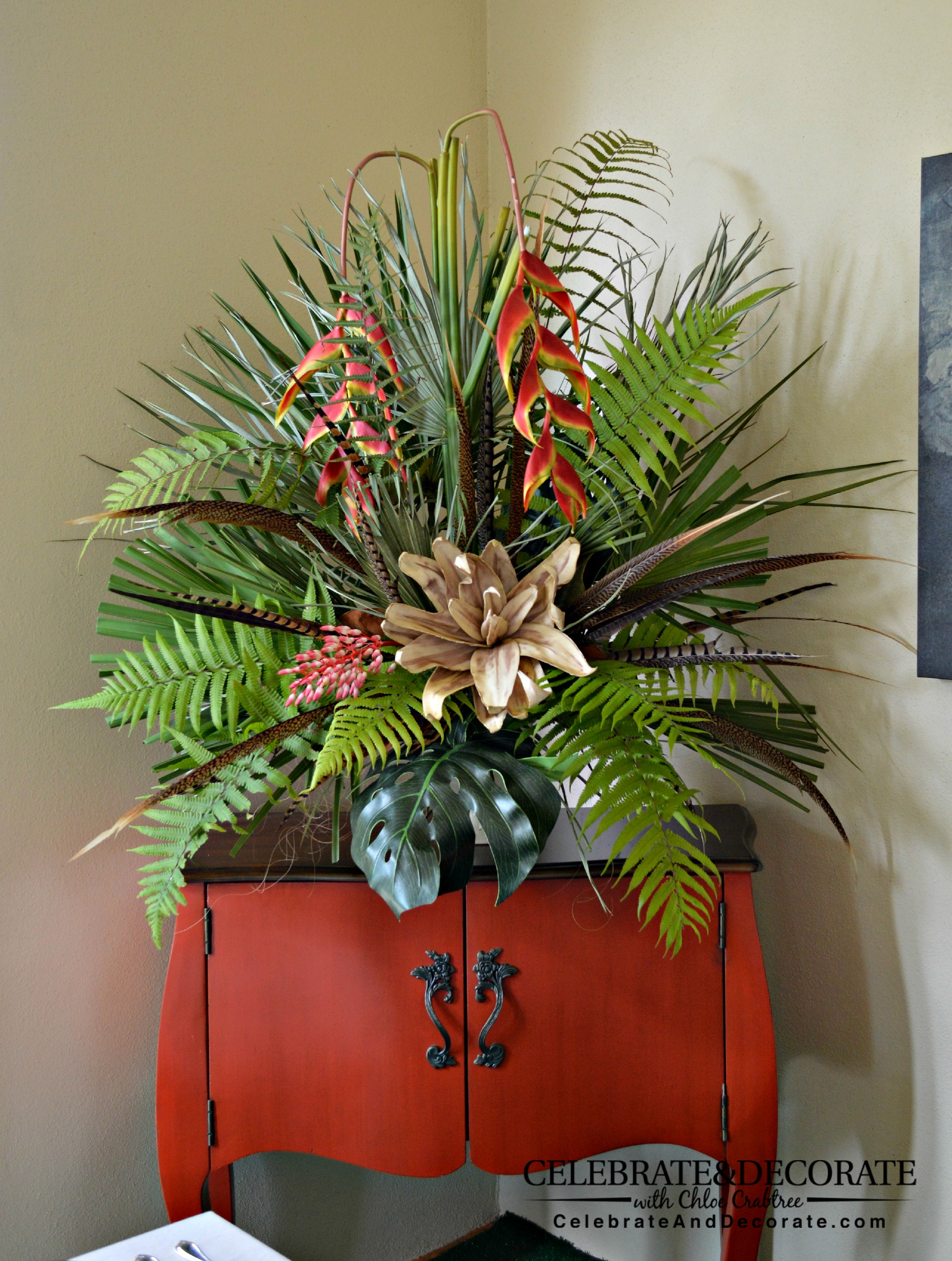 Floral Decor: Safari Party Or Jungle Party Perfect For An Outdoor Summer
