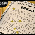 Academy Awards Bingo Free Printable