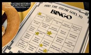 Academy Awards Bingo Free Printable