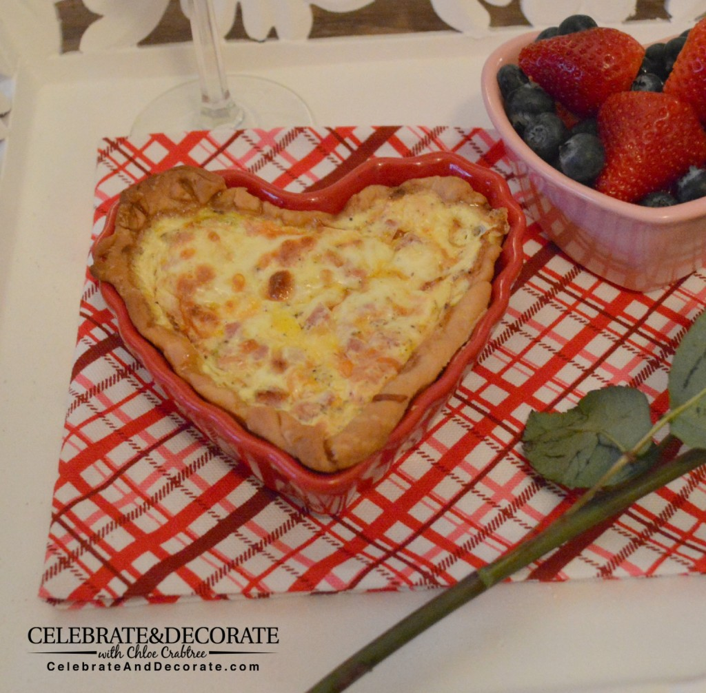 Heart-shaped-quiche