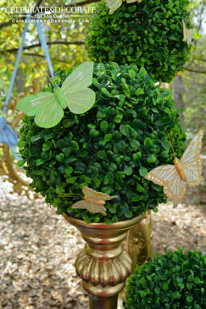 Butterfly-topiary-for-a-Princess=Party