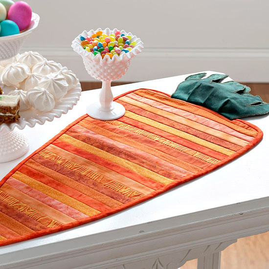 Carrot-table-runner