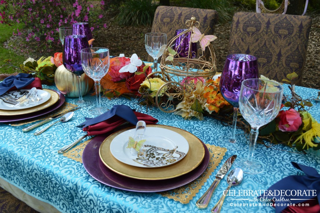 Cinderella-Party-Tablescape