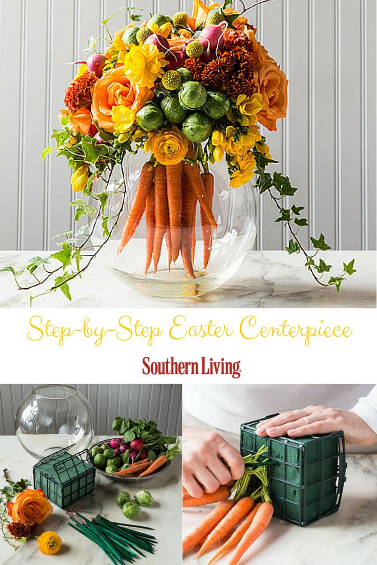 Carrot treats crafts and centerpieces celebrate