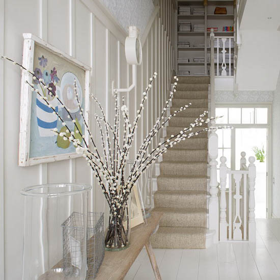 Spring Flowering Branches In Home Decor