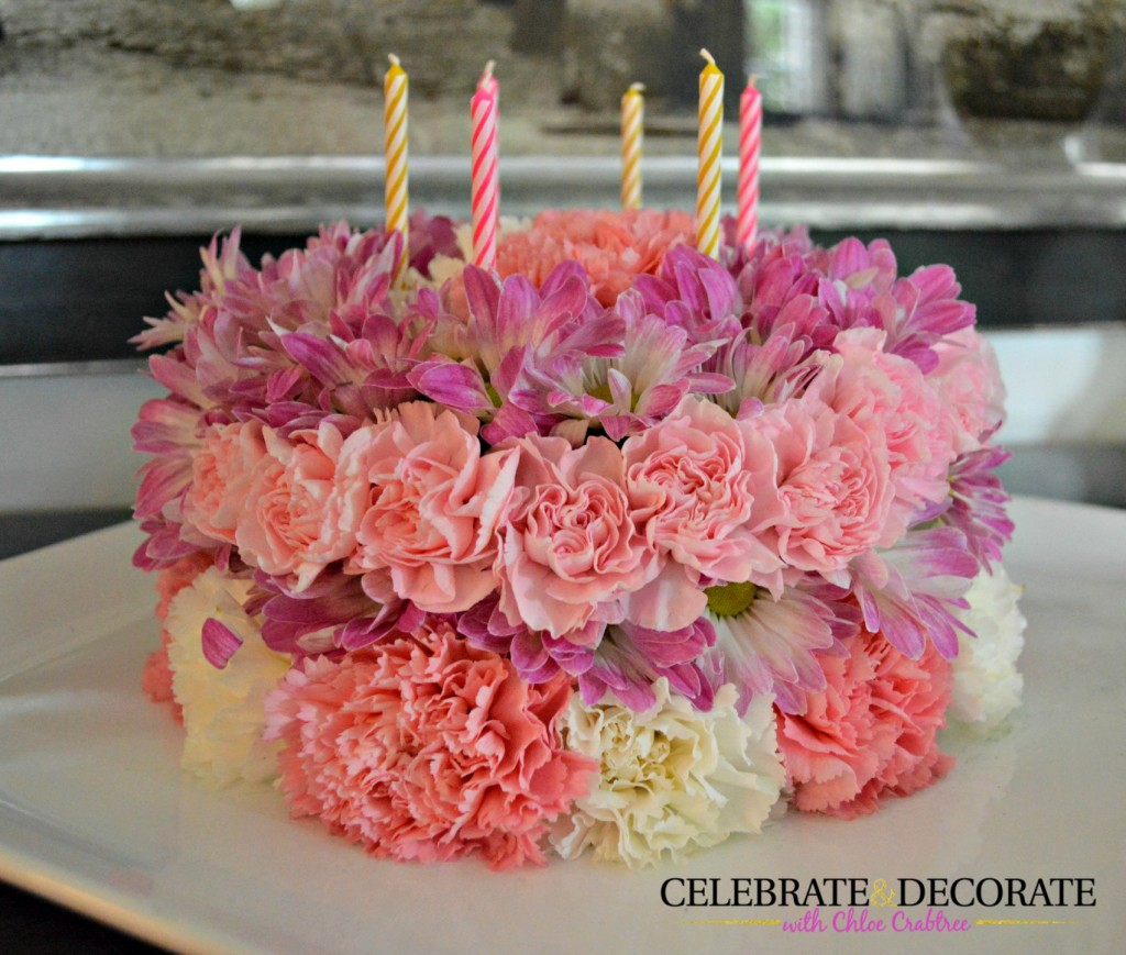 How To Make A Floral Birthday Cake