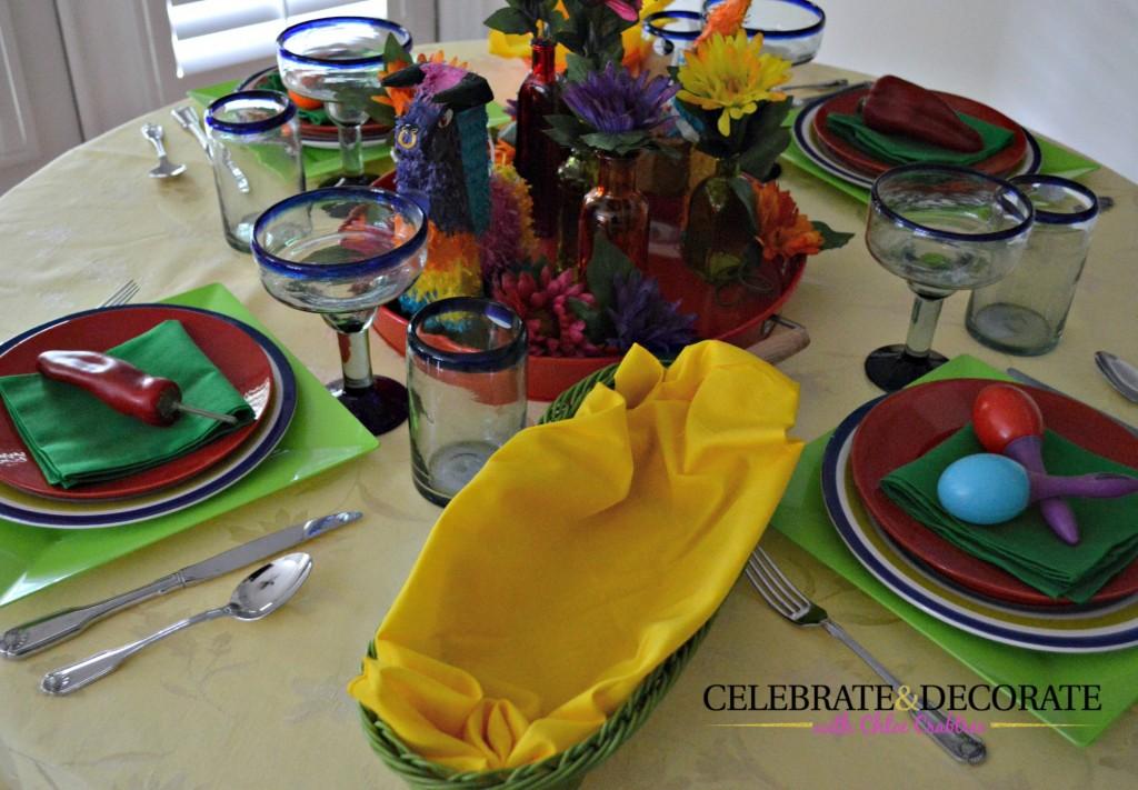 Cinco de Mayo Table