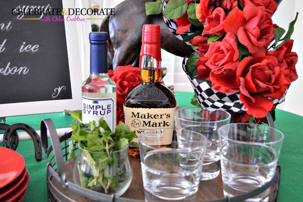 Derby Day Mint Julep Fixings