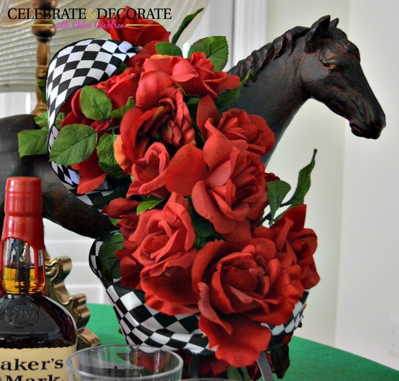 Derby-Horse-Centerpiece