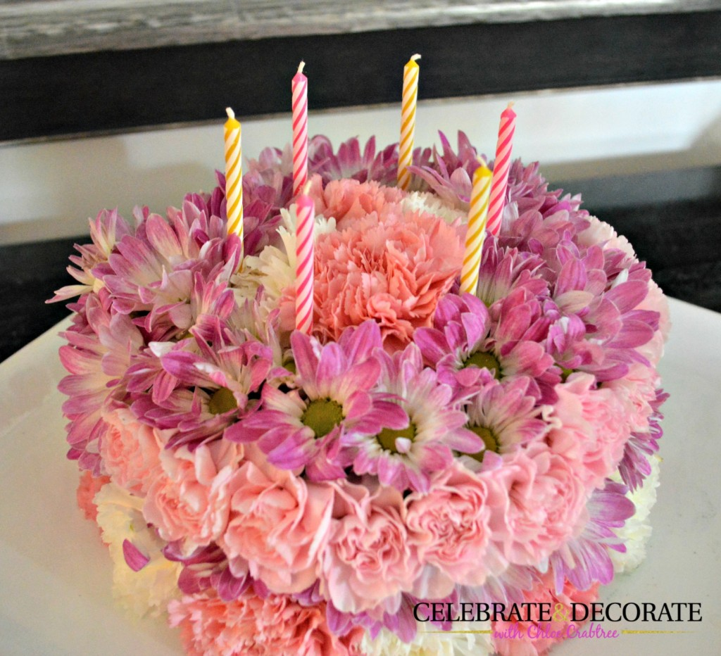 How-to-make-a-flower-cake