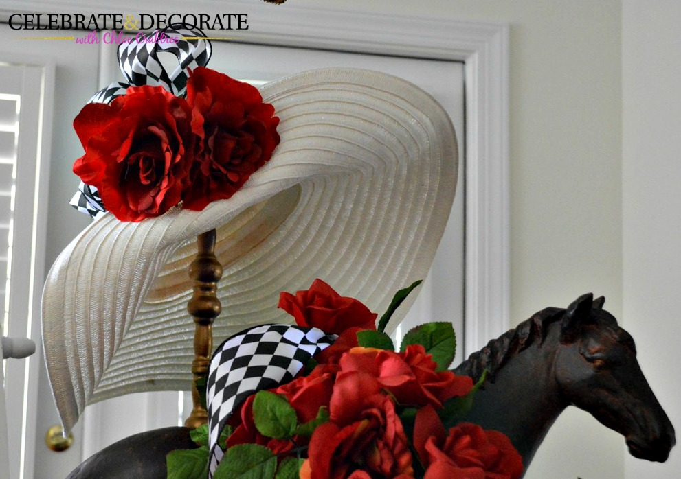 Kentucky derby tablescape celebrate decorate