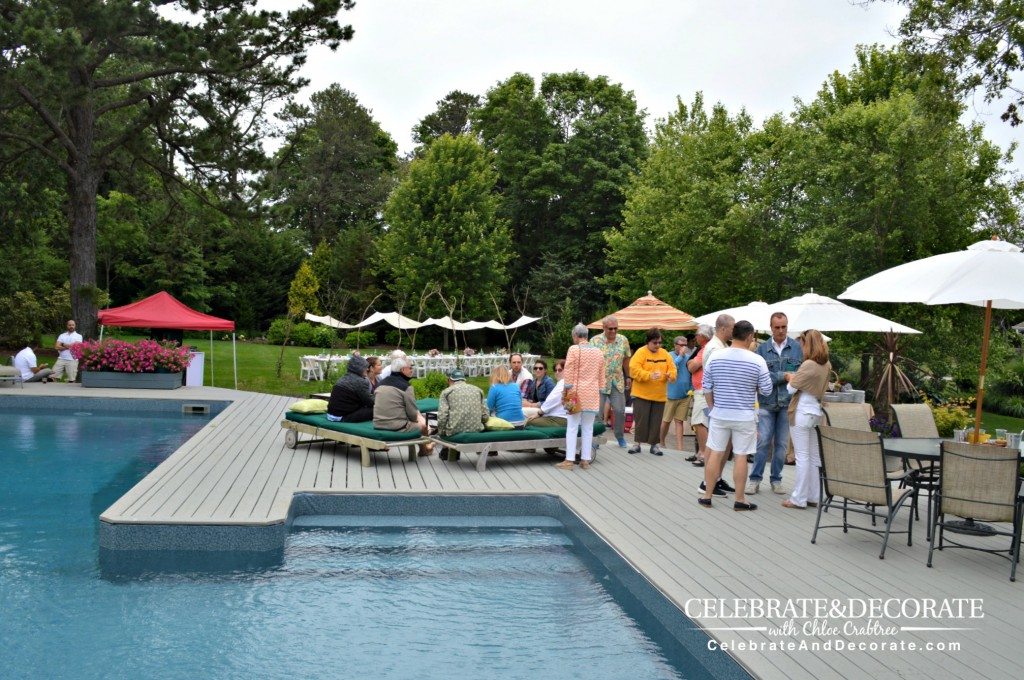 Hamptons-anniversary-party-poolside