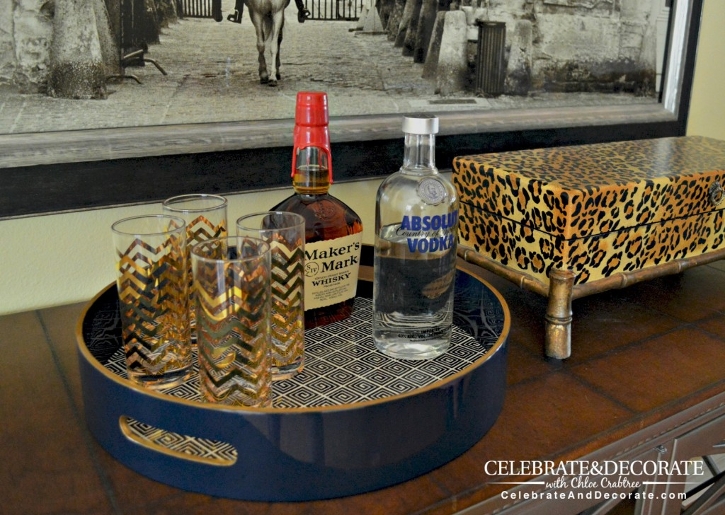 Tray Chic Using Trays In Home Decor Celebrate Amp Decorate