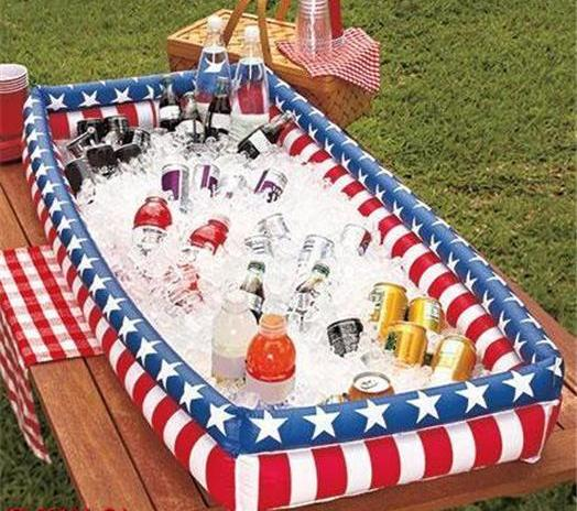 Patriotic-Inflatable-Buffet-Cooler
