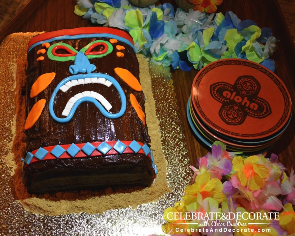 Tiki-Party-Cake