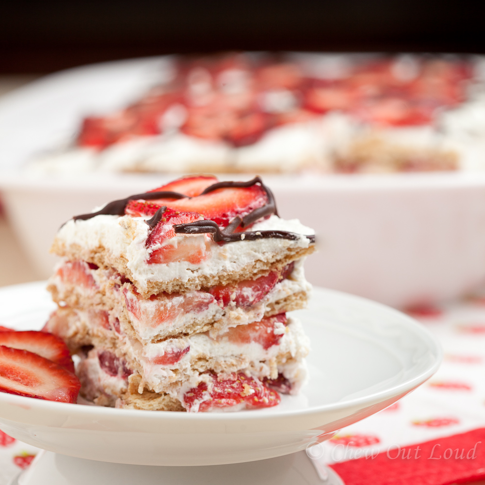 strawberry-icebox-cake